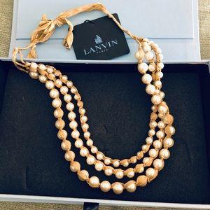 Lanvin pearl beads